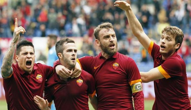 Kegigihan AS Roma